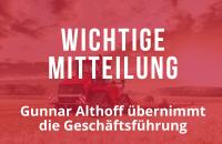 Gunnar Althoff übernimmt die Geschäftsführung für Titan Machinery in Deutschland