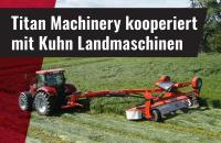Titan Machinery kooperiert mit Kuhn Landmaschinen